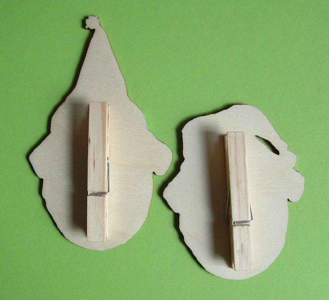 mops weihnachten holz clips graviert handbemalt l tte welt. Black Bedroom Furniture Sets. Home Design Ideas